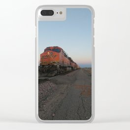 BNSF Unit Clear iPhone Case
