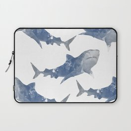 The World is Full of Sharks Laptop Sleeve