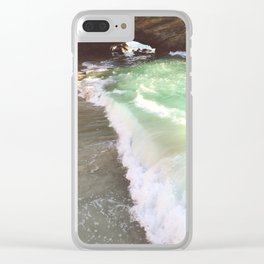Secret Shores Clear iPhone Case