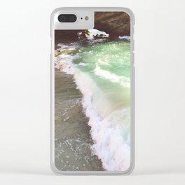 Secret Shores Clear iPhone Case