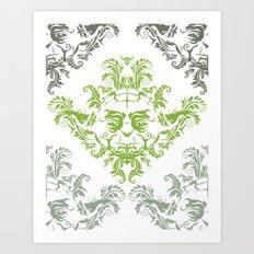 YODamask (Detail) Art Print