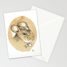 Gentleman Chinchilla Stationery Cards