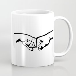 Fist Bump Coffee Mug