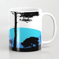 safari Mugs featuring Safari by yakitoko
