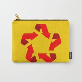 Recycle red star Symbol of new communism Carry-All Pouch