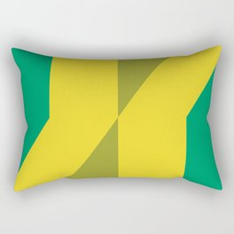 Graphic random 2d matrix, nothing else. Rectangular Pillow