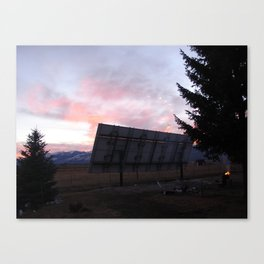 #406 good eve in the southwest 406 Canvas Print