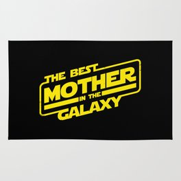The Best Mother in the Galaxy Rug