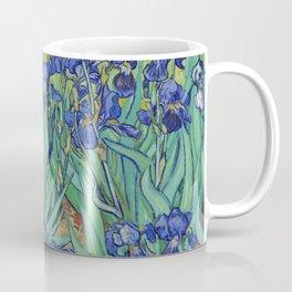 Irises (1889) by Vincent Van Gogh. Original from the J. Paul Getty Museum Coffee Mug