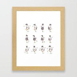 The Cow Framed Art Print
