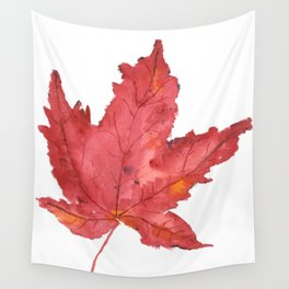 Fall Maple Leaf Wall Tapestry