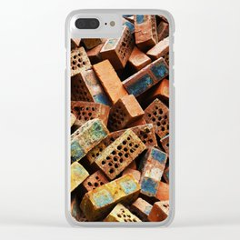 Chinese Bricks Clear iPhone Case