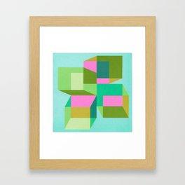 Cubes 402(v2)BH-A Framed Art Print