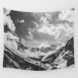 Everest base camp Wall Tapestry