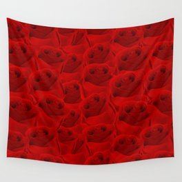 Rose Pattern Wall Tapestry
