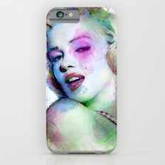 Marilyn under brushes effects iPhone 6s Slim Case
