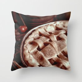 Apple Pie Reday for the Oven Throw Pillow