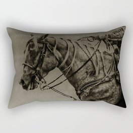 Work Ethic Rectangular Pillow