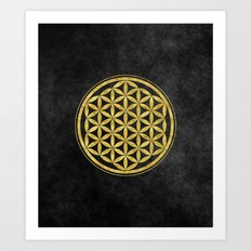 Flower Of Life 007 Art Print