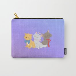 three aristocats..  Carry-All Pouch