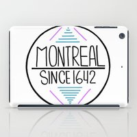 montreal iPad Cases featuring Montreal by Aurelie