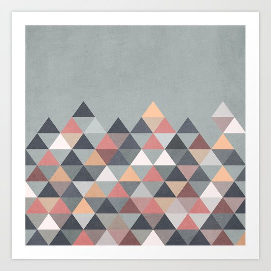 Nordic Combination IV Art Print