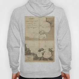 The Atlantic Neptune: Charts for the Use of the Royal Navy (1780) - Montego Bay, Jamaica Hoody