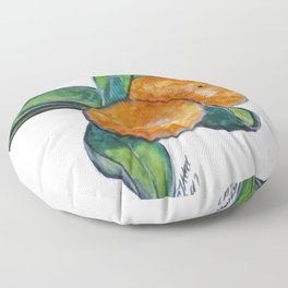 Two Oranges Floor Pillow