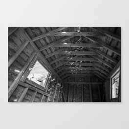 Chimney Corner Engine House - Cape Breton Canvas Print