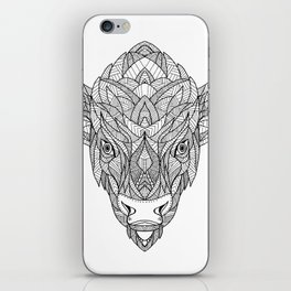 American Bison Zentagle iPhone Skin