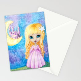 Castle Dreams Girl Stationery Cards