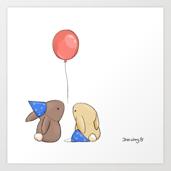 Birthdays Art Print