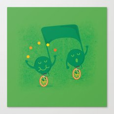 a fun musical note Canvas Print