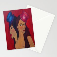 Show Girls Stationery Cards