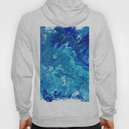 Dark Ocean Blue Hoody