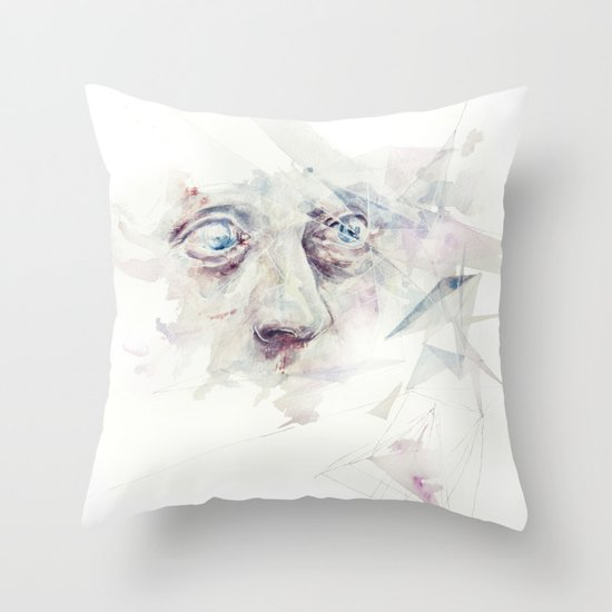 living in delay Throw Pillow