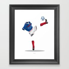 France 1998 - World Cup Winners Framed Art Print