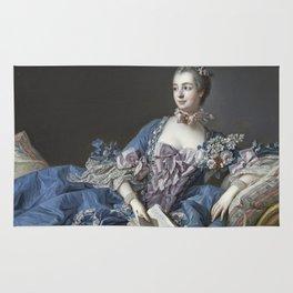 Francois Boucher - Madame De Pompadour Rug