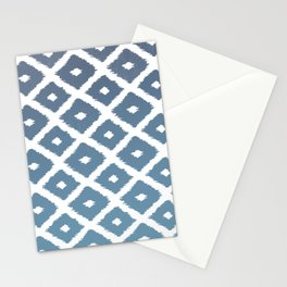 Ikat Linocut Stationery Cards