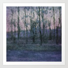 Unknown Land Art Print