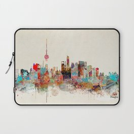 shanghai city skyline Laptop Sleeve