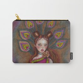Peacock princess Carry-All Pouch