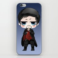 ouat iPhone & iPod Skins featuring OUAT - Chibi Killian Jones by Yorlenisama