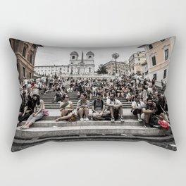 Spanish Steps Rectangular Pillow
