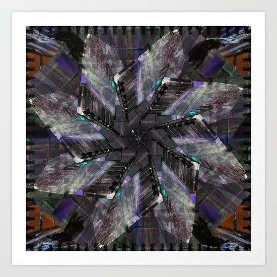 Mandala series #11 Art Print
