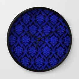 Deep Blue Design Wall Clock