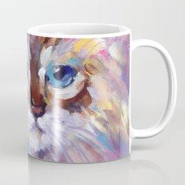 Blue Eyed Birman Coffee Mug