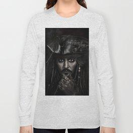 He's a Pirate Long Sleeve T-shirt