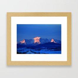 Collegiate Sunrise Framed Art Print
