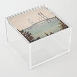 Mackinac Bridge Acrylic Box